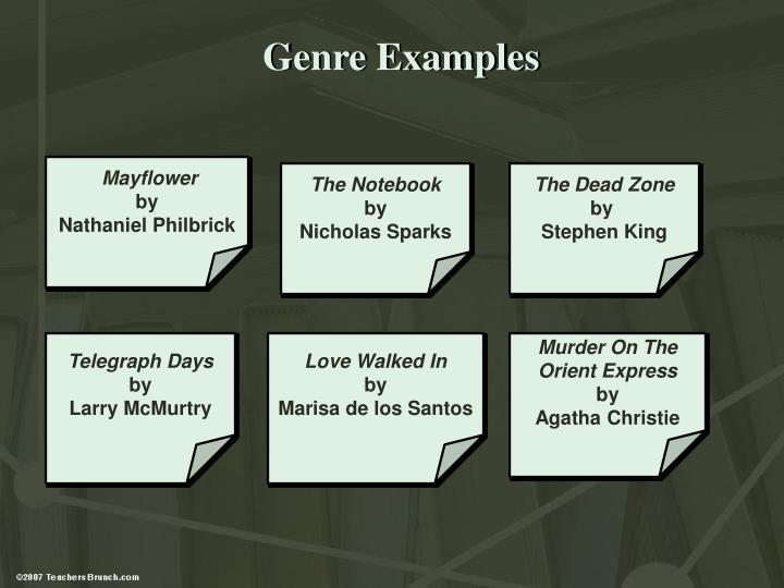 Genre Examples
