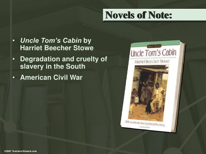 Novels of Note: