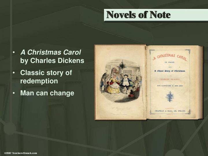 Novels of Note