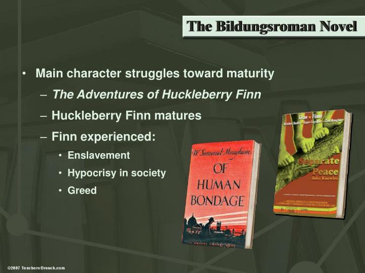 The Bildungsroman Novel