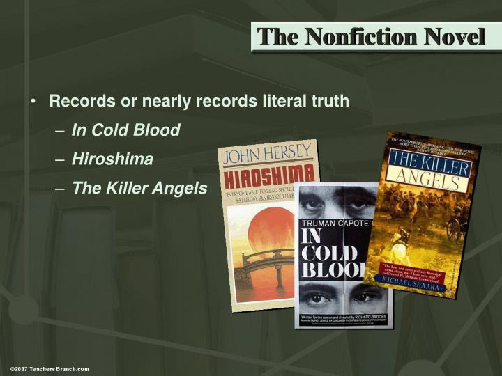 The Nonfiction Novel