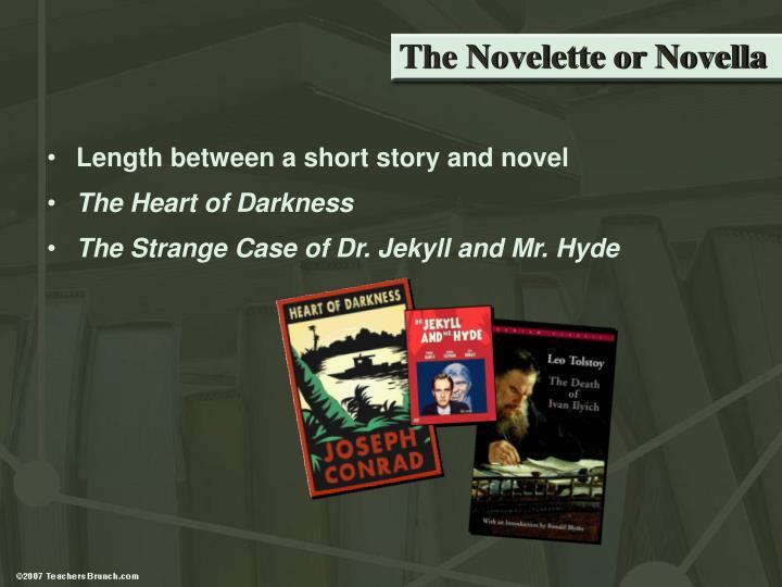 The Novelette or Novella