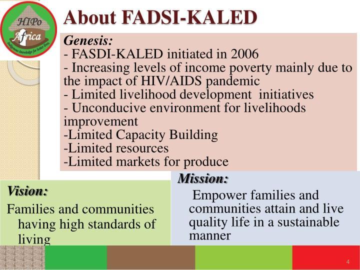 About FADSI-KALED