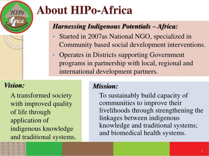 About hipo africa