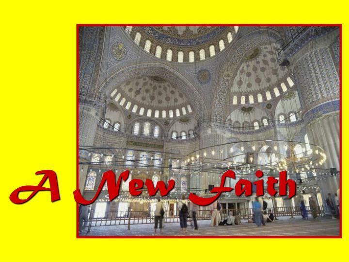 A New Faith