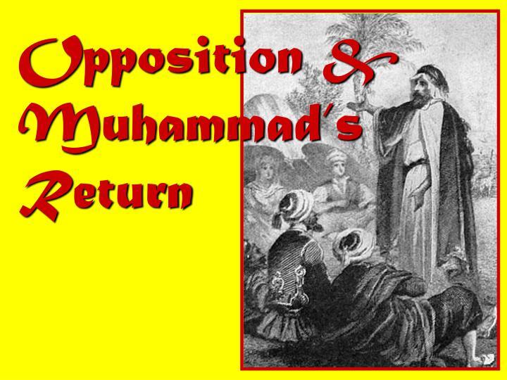 Opposition & Muhammad's Return