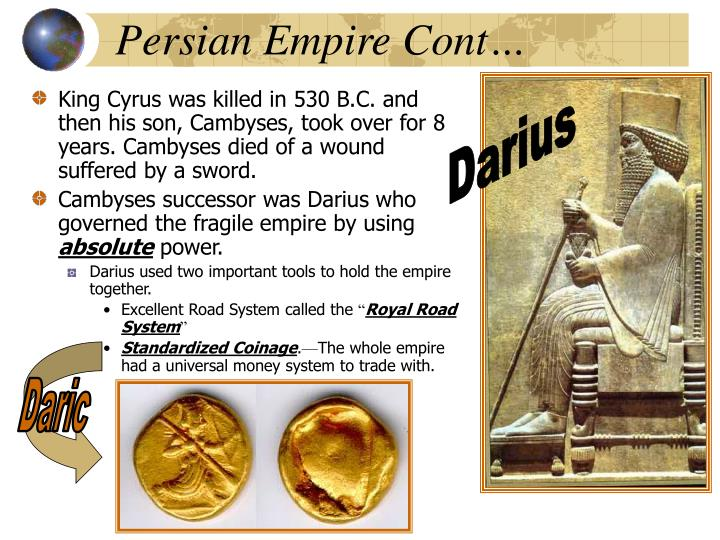 Persian Empire Cont…