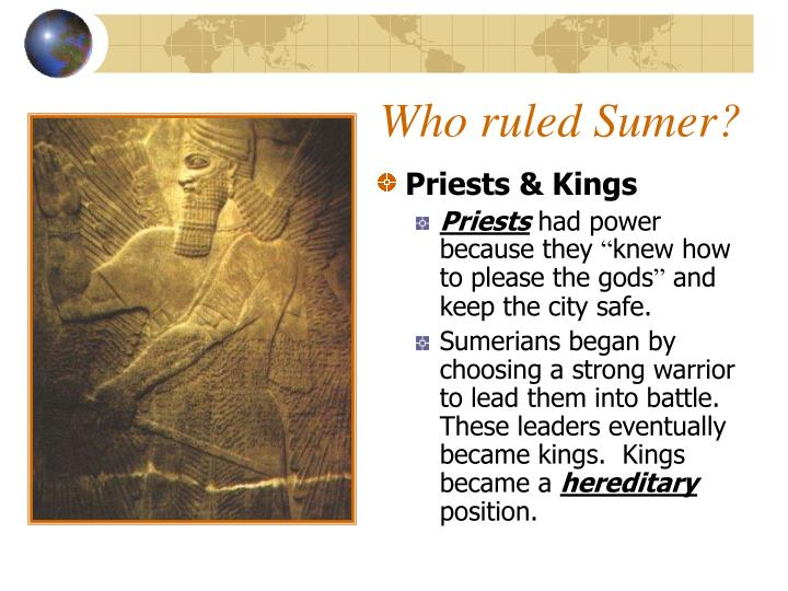 Who ruled Sumer?