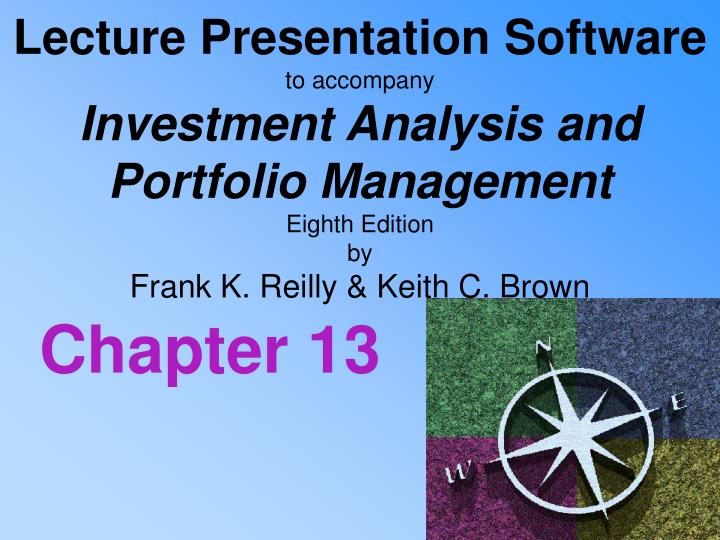 Investment analysis and portfolio management chapter 13 ppt templates theodore roosevelt and senator george vest