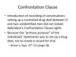 confrontation clause1