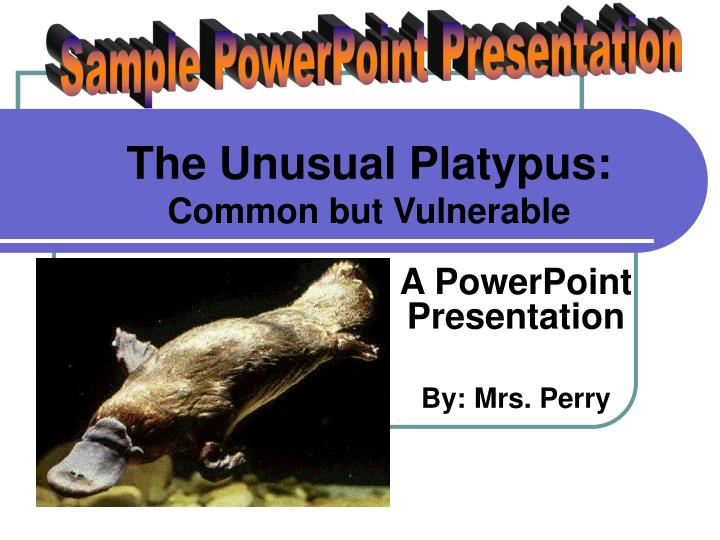 a powerpoint presentation by mrs perry n.