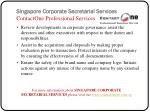 singapore corporate secretarial services contactone professional services8