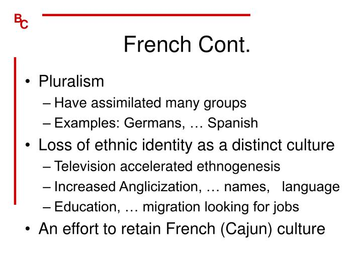 French Cont.