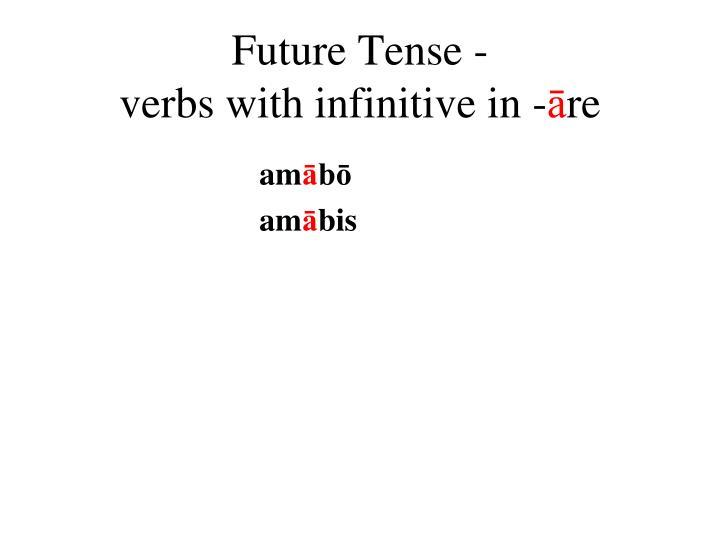 Future Tense -