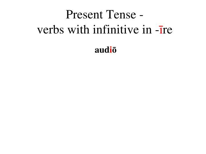 Present Tense -