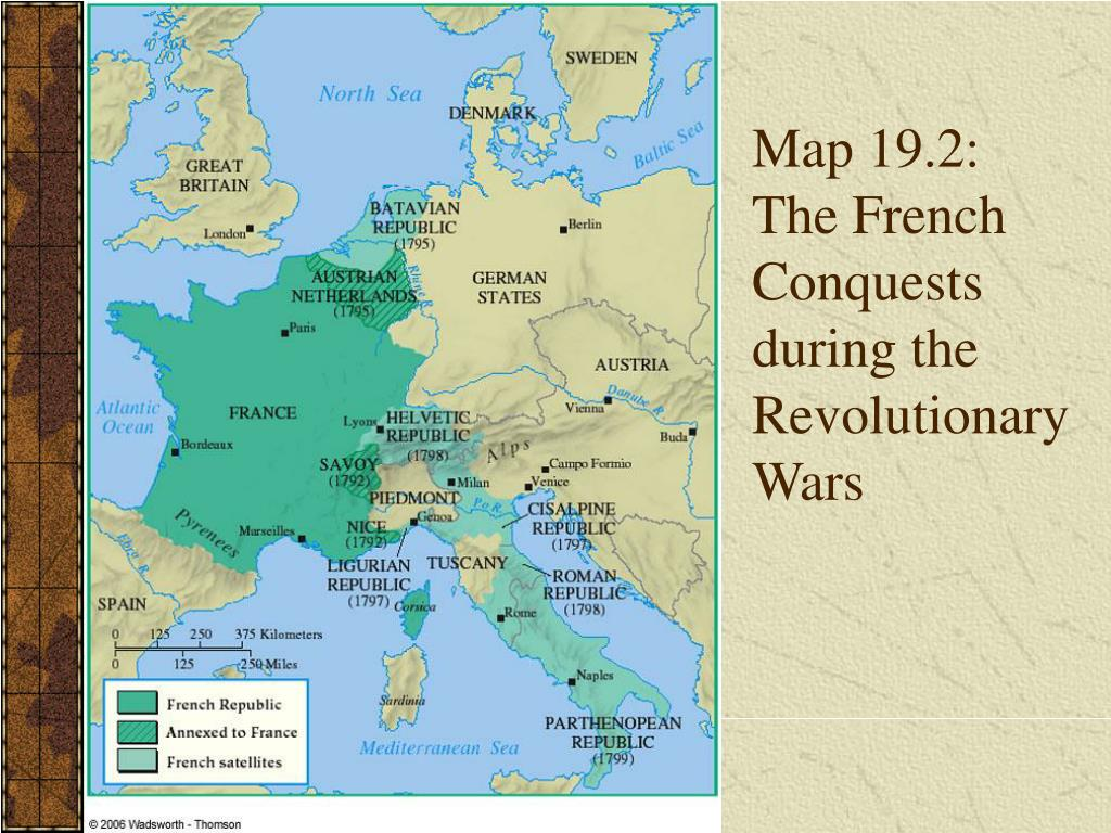 Map Of France French Revolution.Ppt Chapter 19 Powerpoint Presentation Id 1367456
