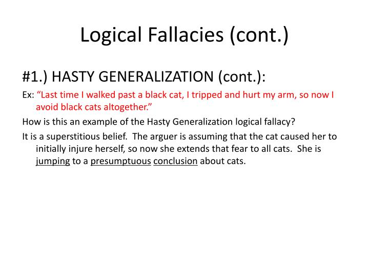 Ppt Logical Fallacies Powerpoint Presentation Id1367464