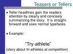 teasers or tellers7