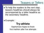 teasers or tellers8