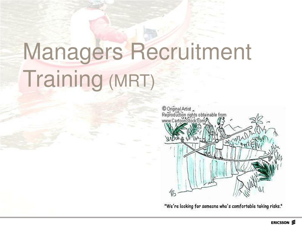 Managers Recruitment Training