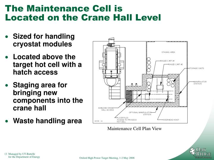 The Maintenance Cell is