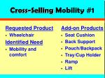 cross selling mobility 1