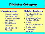 diabetes category
