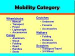 mobility category