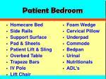 patient bedroom