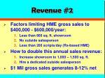 revenue 2