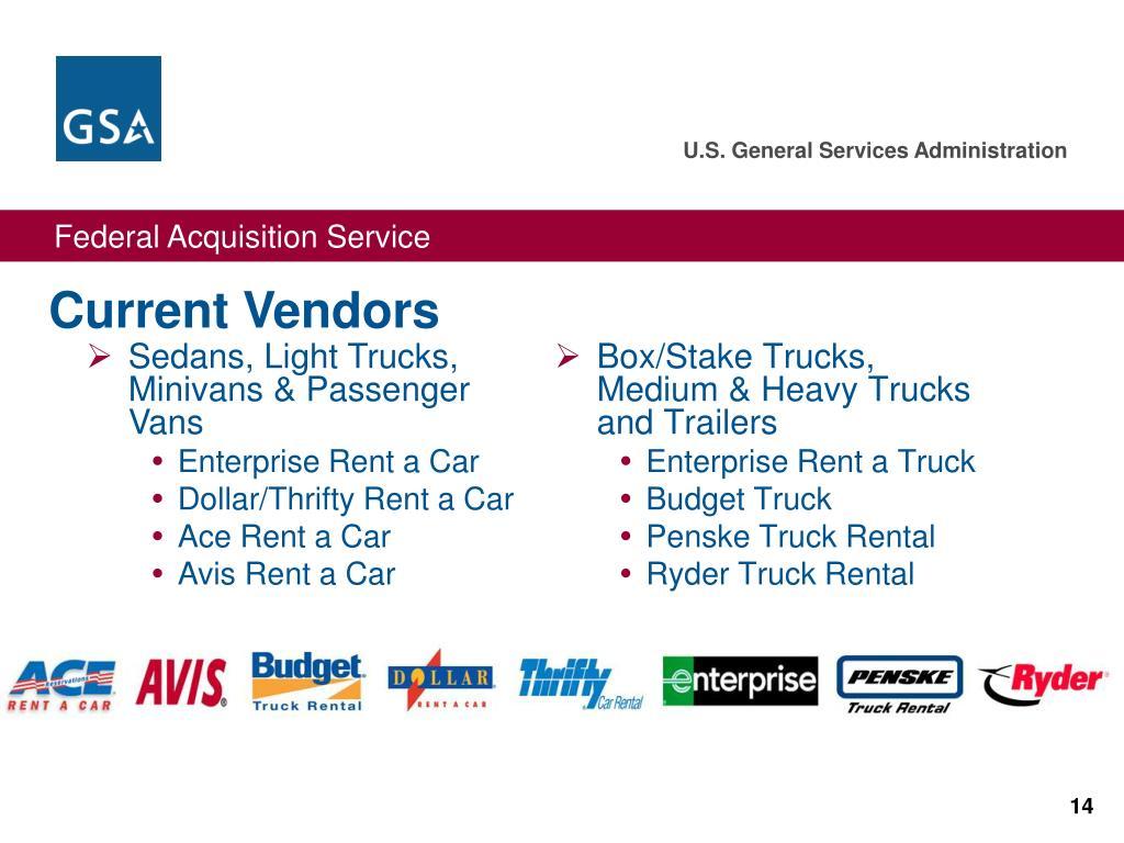 Box/Stake Trucks, Medium & Heavy Trucks and Trailers