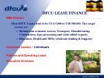 dfcu lease finance