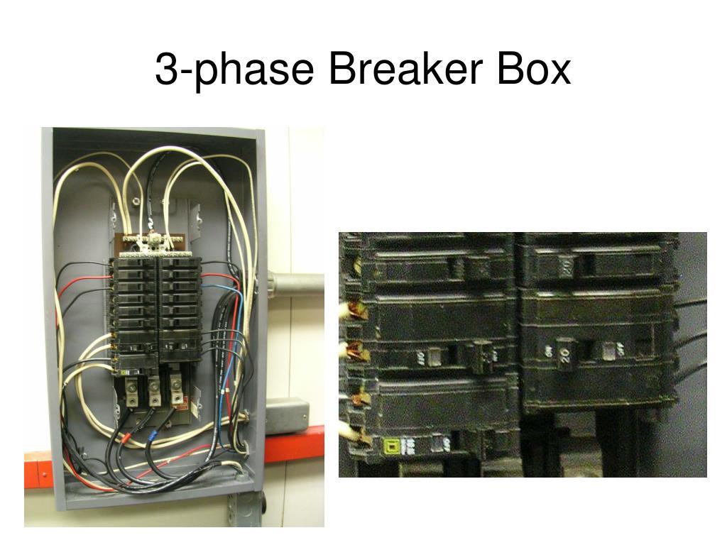 3-phase Breaker Box