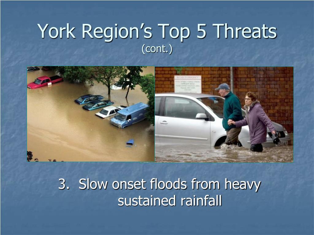York Region's Top 5 Threats