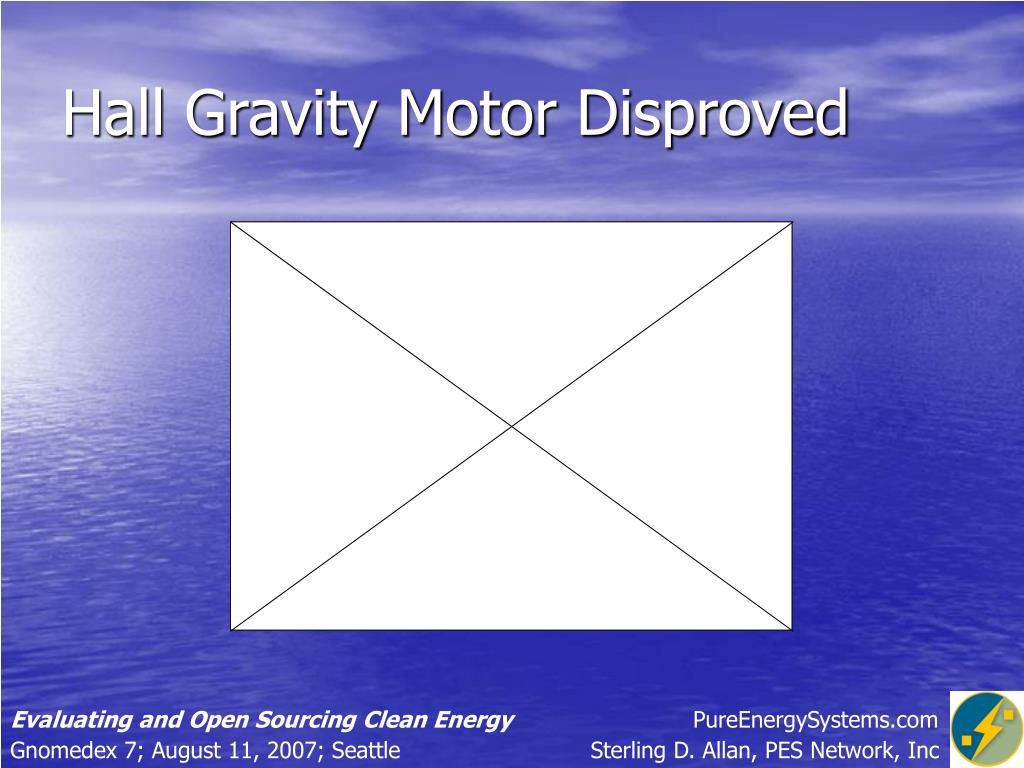 Hall Gravity Motor Disproved