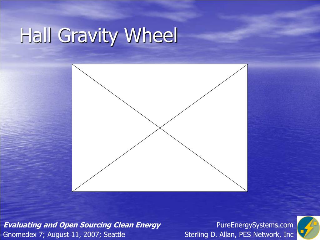 Hall Gravity Wheel