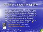 imagine universal prosperity