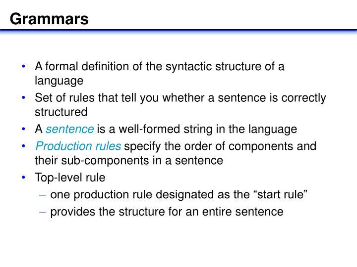 Grammars1