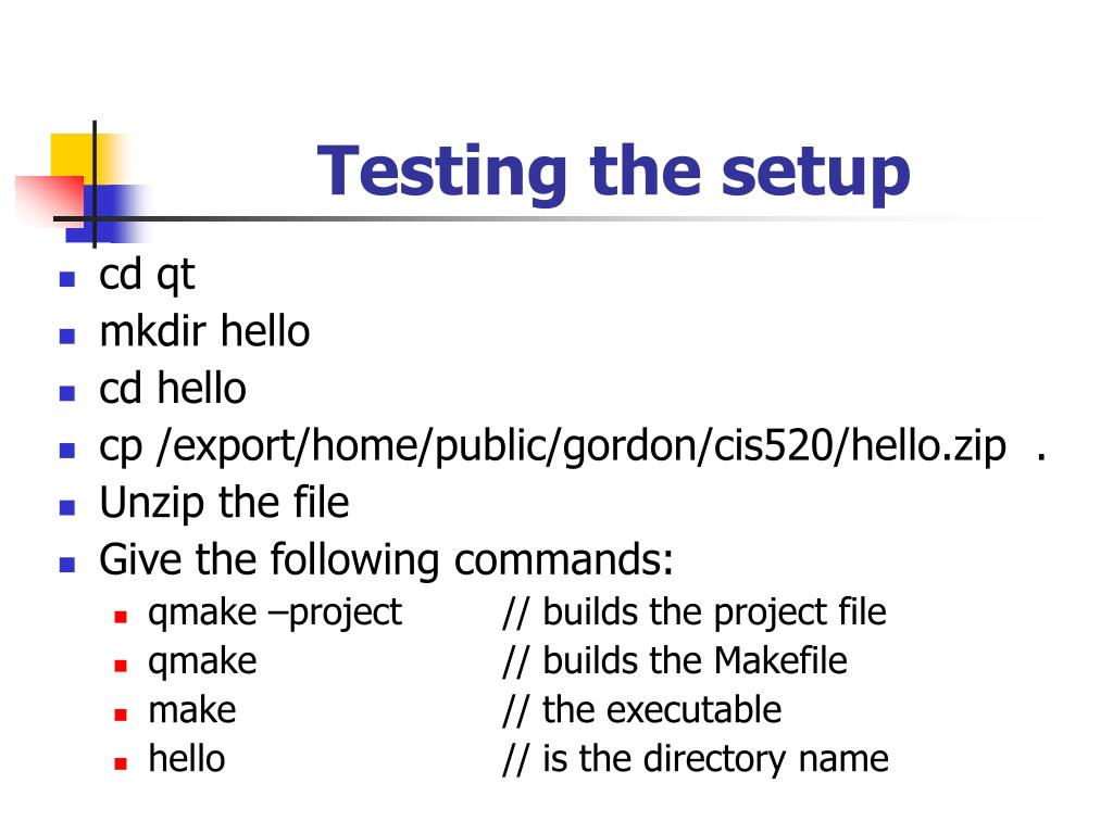 PPT - QT - a C++ based GUI PowerPoint Presentation - ID:136812
