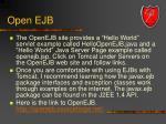 open ejb3