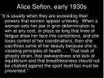 alice sefton early 1930s