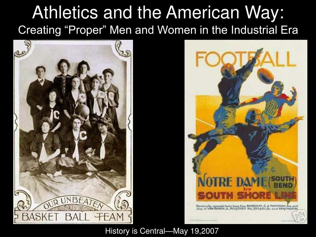 athletics and the american way l.