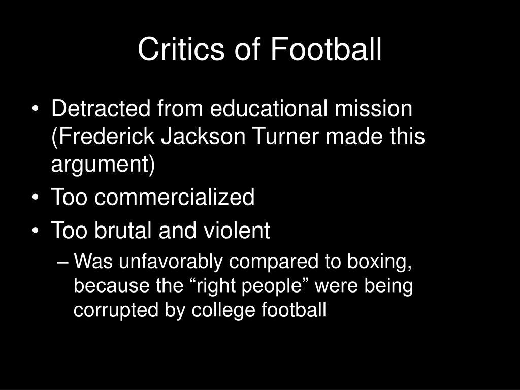 Critics of Football