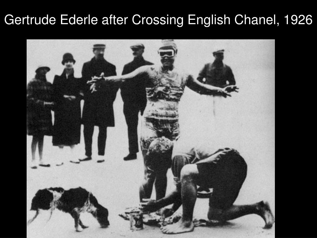 Gertrude Ederle after Crossing English Chanel, 1926