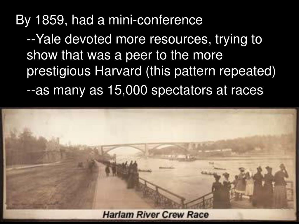 By 1859, had a mini-conference