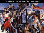 t h benton city activities with dance hall