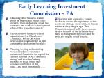 early learning investment commission pa