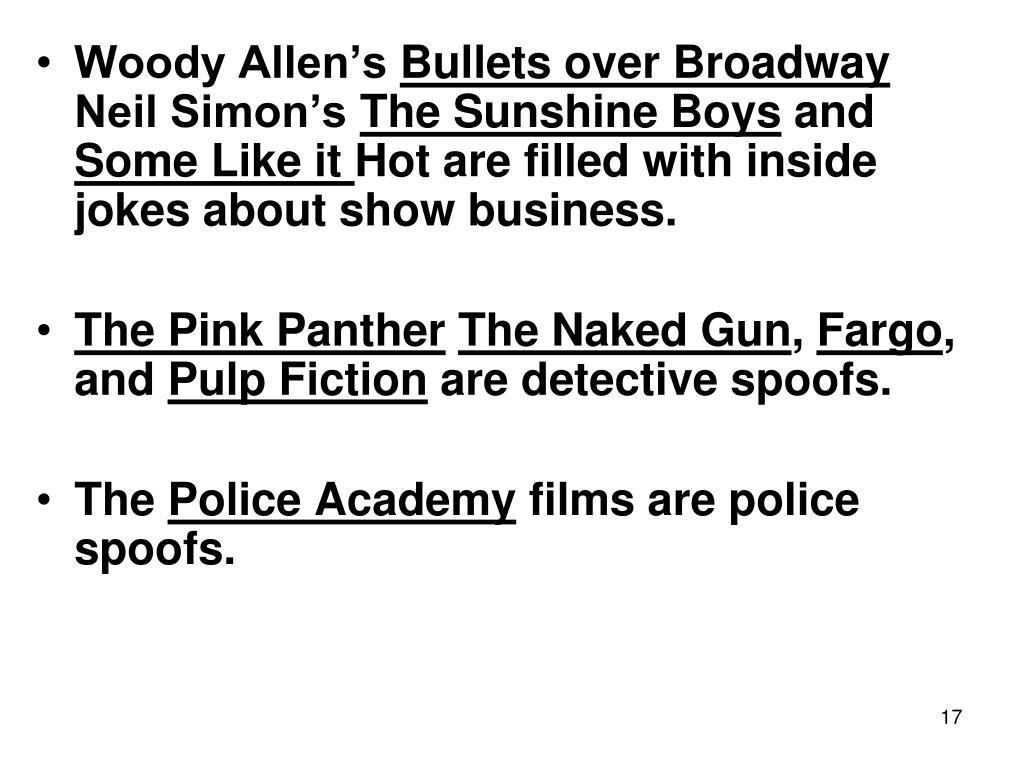 Woody Allen's