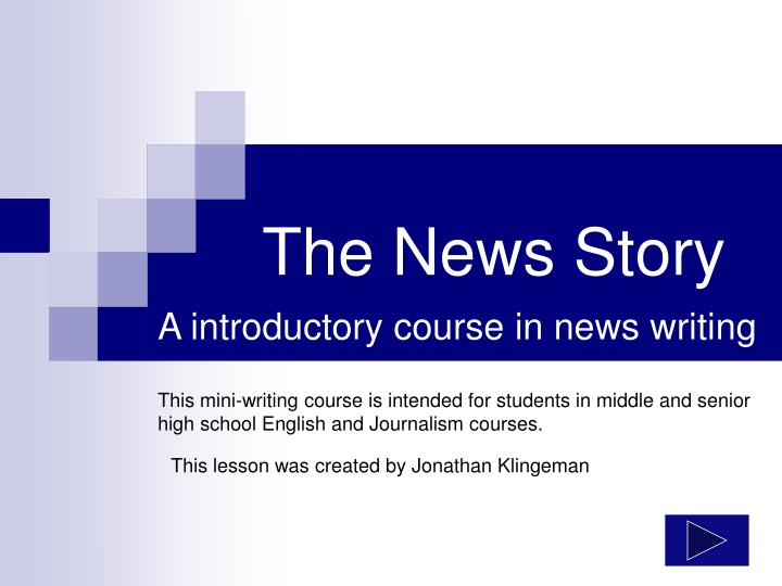 The news story