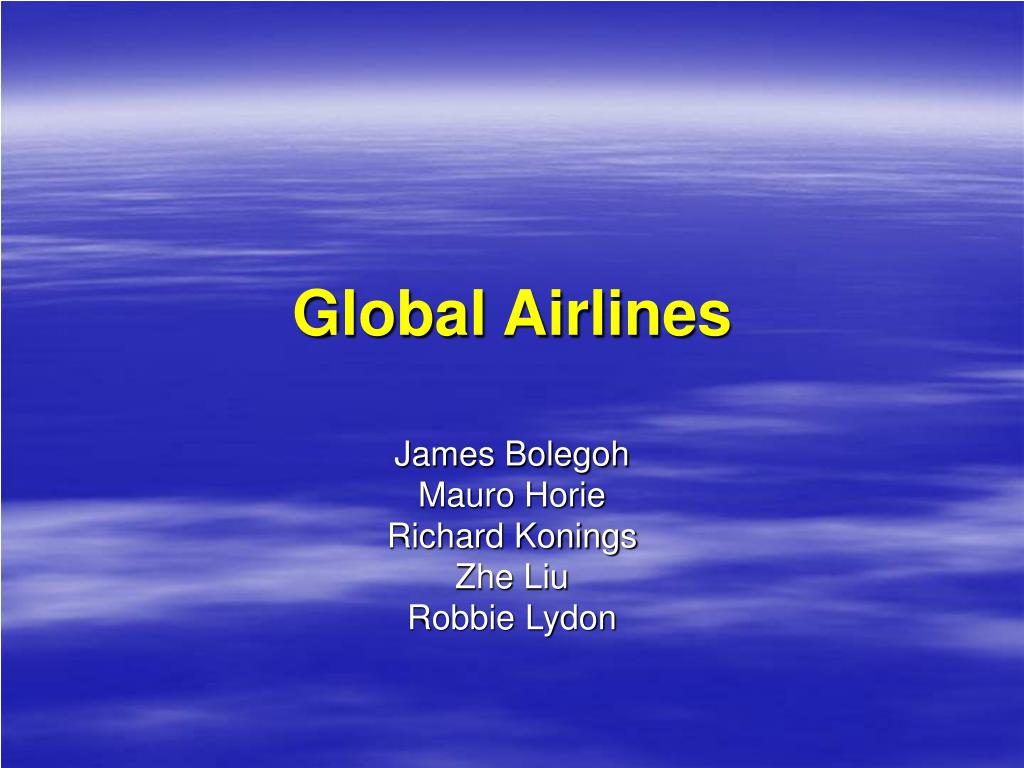 global airlines l.